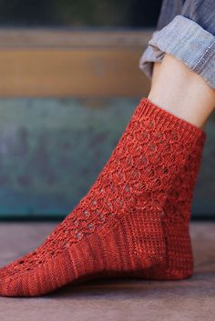 Ravelry: Fucus asparagoides Sock pattern by Hunter Hammersen