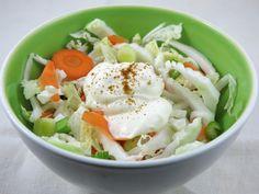 Salade de chou à la crème