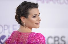 Lea Michele People's Choice Awards 2013 - Love the braided updo!