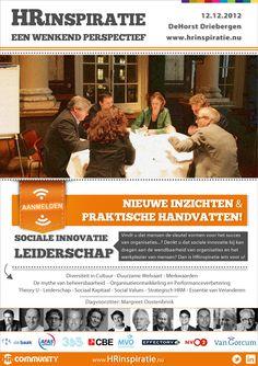 HRinspiratie | Leiderschap en Sociale Innovatie - een wenkend perspectief. Dialoog, aangejaagd door 12 top sprekers!