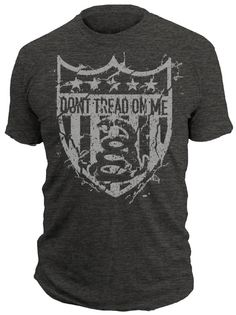 SHATTER - Don't Tread On Me® 50/50 T-Shirt Grunt Style Shirts, Patriotic Tee Shirts, Dont Tread On Me, Textiles, Weather Wear, Mens Tee Shirts, Great T Shirts, Cool Outfits, Shirt Designs
