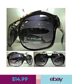 68c1465e232  14.99 - Men s Or Women Classic Vintage Retro Style Sun Glasses Shades  Black   Gold Frame