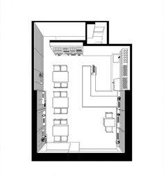 Rustic Restaurant Interior, Bakery Shop Interior, Coffee Shop Interior Design, Restaurant Plan, Deco Restaurant, Restaurant Design, Cafe Shop Design, Small Cafe Design, Cafe Floor Plan