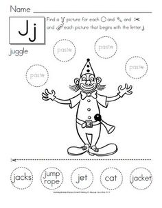 These cut and paste worksheets are great for kids to learn fine motor skills, especially in pre-k and Kindergarten. Although they can be used beyond these grades for students below grade level, English learners or special education. It is at this time that kids are being introduced to use of scissors and to create more complex craft projects. For your workshop time or your literacy centers.