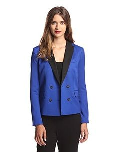 Sad to see Summer coming to an end but excited to stock up on Fall must haves! L.A.M.B. Women's Double Breasted Blazer on MyHabit.com
