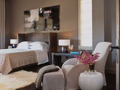 create cosier rooms too (versus light white/pale colours)