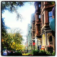 Newbury Street. Boston Strong. #kate #putnam #nh