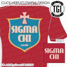 TGI Greek - Sigma Chi - PR - Greek Apparel #tgigreek #sigmachi