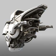 ArtStation - Scifi Drone, Tor Frick