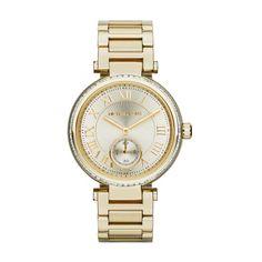Michael Kors Skylar MK5867 Gold Analog Quartz Women's Watch
