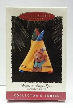 Crayola Hallmark Christmas Ornament 1995