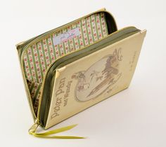 Peter Pan Book Clutch by psBesitos on Etsy