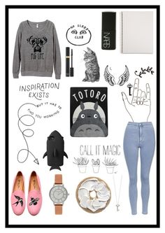 """""""Untitled #149"""" by bellelwt ❤ liked on Polyvore featuring Del Toro, Topshop, Olivia Burton, Mead, NARS Cosmetics, Tom Ford, STELLA McCARTNEY, Blonde Ambition, Ghibli and Roberto Coin"""