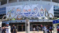 نگاره من و کره  محل برگذاری مسابقات ابیلیمپیک