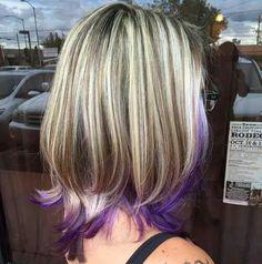 I like the purple as an under light.