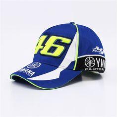Comprar BDLJ Alta Qualidade MOTO GP 46 Motocicleta 3D Bordado F1 Racing Cap Homens  Mulheres Snapback 88d402402a4