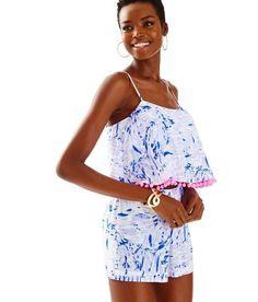 0281175a3bdd NWT Lilly Pulitzer Lilly Verbana Rock The Dock Franni Short Set Size 0  #fashion #