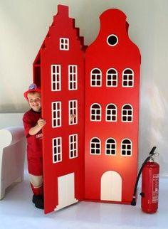 Armoire design Amsterdam rouge