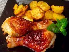 Kurczak pieczony w maślance - Blog z apetytem Polish Recipes, Bon Appetit, Poultry, Food And Drink, Menu, Favorite Recipes, Chicken, Dinner, Cooking