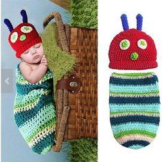 On Sale Newborn Baby Girl Boy Crochet Hungry by SNLBowtique, $25.95