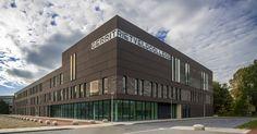 Het nieuwe gebouw van het Gerrit Rietveld College. Beeld: Atelier Pro
