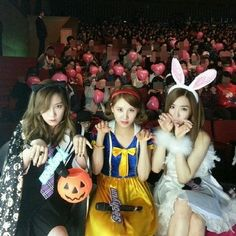 Heechul Uploads Girls' Generation TTS's Cosplay Photo - Soompi