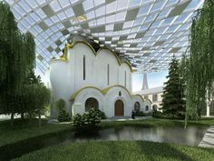Russian Orthodox Church. I don't think I can do anything with this, but wow, that's cool.