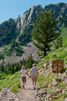 Hiking: It's great to get outside, enjoy nature and exercise at the same time! Good for your health!
