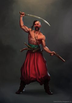 Cossack by IonChirita | ⇆ 753 pl| https://www.pinterest.com/gabrieljakowicz/rzeczpospolita-trojga-narod%C3%B3w/