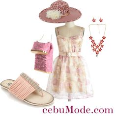 """Pastel Paris"" by cebumode on Polyvore"