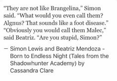 Simon and Beatriz