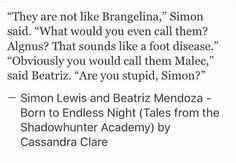 Simon and Beatriz