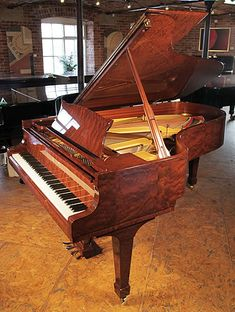 A 1993, Crown Jewels, Steinway Model B grand piano with a stunning, bubinga case at Besbrode Pianos £60,000