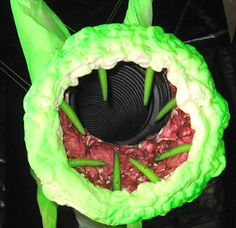 Ducts become alien monster!