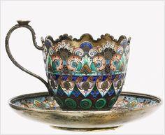 Tea Cup Set, My Cup Of Tea, Tea Cup Saucer, Tea Sets, Tassen Design, Café Chocolate, Antique Tea Cups, Vintage Teacups, China Tea Cups