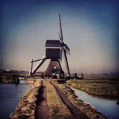 De Molen op de Giessendamse Tiendweg, Hardinxveld-Giessendam the Netherlands.