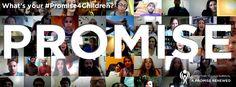 ユニセフが実施した、世界の子どもとの約束を宣言するキャンペーン「#Promise4Children」
