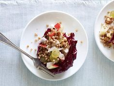 While the old-fashioned recipe largely features fruit and nuts, Giada's salad goes several steps further by incorporating grains and lettuce...