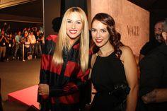 Cristina Brondo de Lavand en la carpa VIP @Vogue Spain con Berta collado
