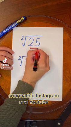 Life Hacks For School, School Study Tips, Simple Math, Basic Math, Math Strategies, Math Resources, Math For Kids, Fun Math, Cool Math Tricks