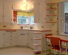 40's kitchen | Real Life Molly McIntire Inspired Kitchen
