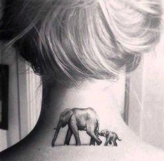 Elefanten gehören zu den bedrohten Tierarten der Welt. Die sanften Riesen finden als Tattoo immer mehr Freunde in der internationalen Tattoo-Szene. Ihr Abbild steht für Stärke, Freiheit und Sanftmut, aber auch Hoffnung und Treue. .  .  . .  .  …