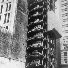 The Car Parking Machine 1932  Chicago, United States of America.