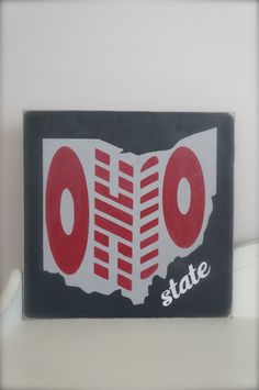 Ohio State Wall Art ohio state buckeyes reclaimed wood sign $20. now i know what to do