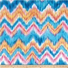 Fleece Abstract Chevron Multi