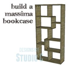 A SUPER-EASY MODERN BOOKCASE – DIY PLANS TO BUILD A MASSIMA BOOKCASE
