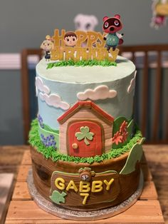 5th Birthday, Birthday Cakes, Birthday Ideas, Mommys Boy, Cake Stuff, Cake Designs, Just Desserts, Animal Crossing, 10 Years