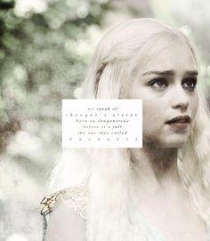 We speak of Rhaegar's sister born on Dragonstone before it's fall, the one they called Daenerys. #got #asoiaf