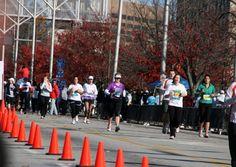Atlanta Marathon & Marathon Relay. Discover Atlanta at the Atlanta Marathon and Marathon Relay. The 26.2 mile urban course starts and finishes at Atlantic Station taking participants on a tour of Atlanta past well-known Atlanta sites.