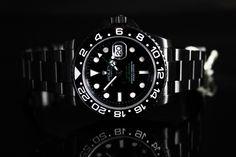 Black Rolex GMT II DLC PVD